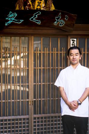 Satoshi Okuda, 5th generation owner of Okubun.