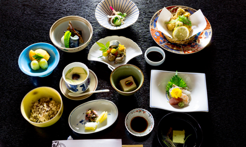 Japanese course meals