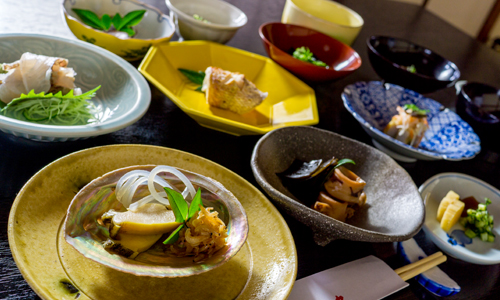 Onshi dishes